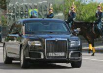 Putins-Aurus car